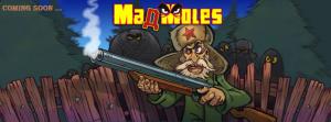 Макар да минава за малка игра, Maд Moles има около 100 специално създадени звука.