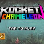 Rocket Chameleon's Main Menu