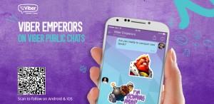 Viber Emperors Stickers