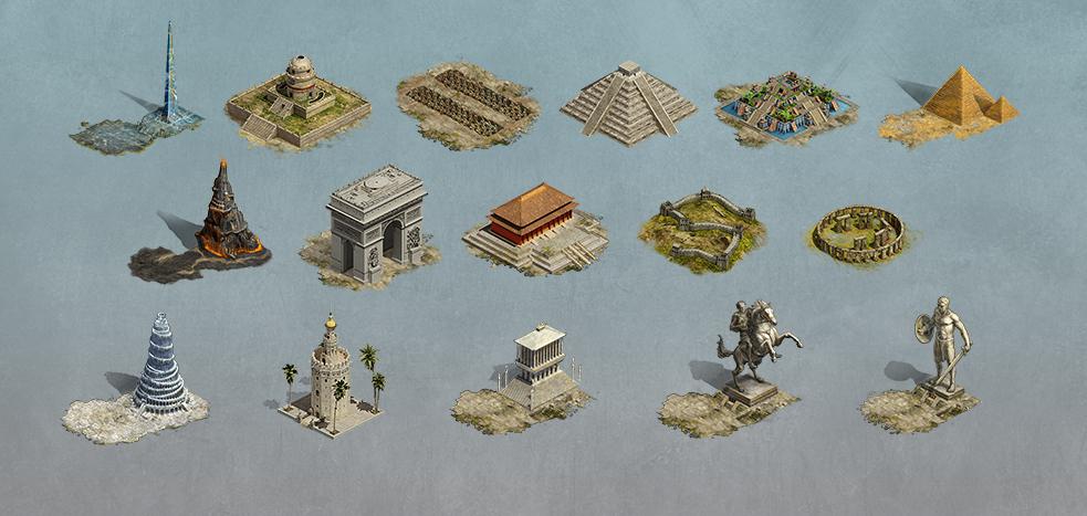 New Wonders - New Gameplay